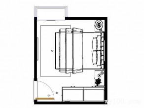 欧式衣柜卧室效果图 11平空间充满温馨气息_维意定制家具商城