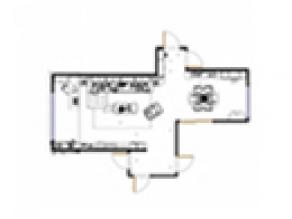 凹位定制性客餐厅效果图_维意定制家具商城
