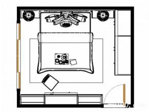 田园卧房设计 14平给人一种春意盎然的感觉_维意定制家具商城