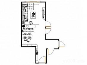 美式落地窗客餐厅 35�O变身优雅豪宅_维意定制家具商城