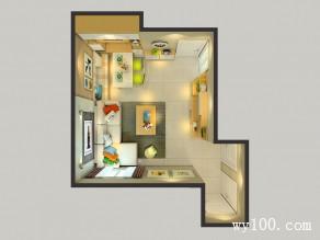 客厅装修效果图 现代与时尚感同在_维意定制家具商城