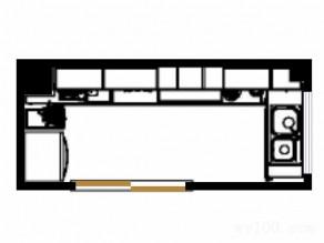 厨房装修效果图 吊柜组合增加空间收纳_维意定制家具商城