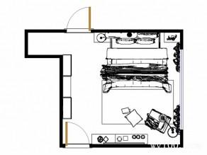 现代风格卧房效果图 23�O追求高档豪华_维意定制家具商城