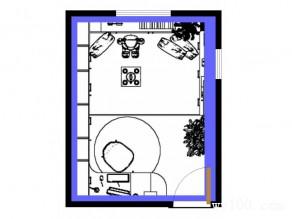 榻榻米的卧室兼书房 一室多用储物功能强_维意定制家具商城