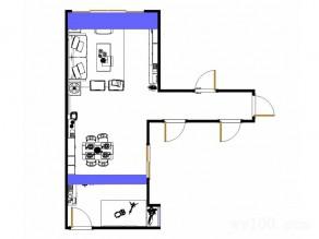 美式风格的客餐厅 多功能柜体拼接营造简约氛围_维意定制家具商城