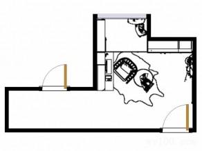 榻榻米书房效果图 10平中式氛围浓厚_维意定制家具商城