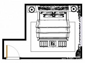 18�O英伦美式卧室设计效果图_维意定制家具商城