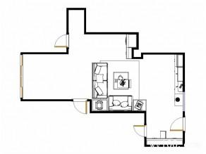客餐厅装修效果图 70�O结合经典掩艺的工艺_维意定制家具商城