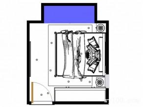 榻榻米卧室效果图 11�O突破梁柱的限制_维意定制家具商城