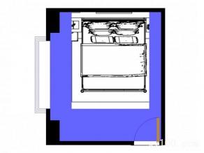飘窗卧室效果图 12�O采光好方便户主使用_维意定制家具商城
