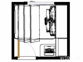 儿童房装修效果图 5�O整体空间色彩健康_维意定制家具商城
