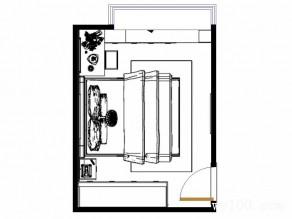 简约卧室效果图 柜体拼接合理的利用空间_维意定制家具商城