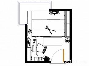 多功能化书房设计效果图_维意定制家具商城