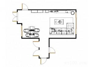 客餐厅装修效果图 58�O鞋柜与储物柜组合_维意定制家具商城