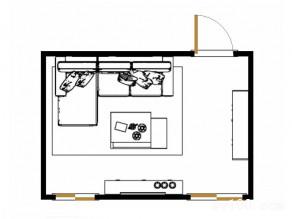 客餐厅装修效果图 14�O进门处设置储物柜_维意定制家具商城