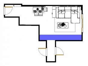 客餐厅装修效果图 54�O空间整齐有序_维意定制家具商城