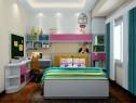 可爱卡通儿童房 在童趣中成长_维意定制家具商城