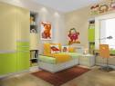 强收纳卡通型儿童房 卡菲猫主题设计_维意定制家具商城