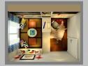 经典黑白书房 9�O我行我素的个性空间_维意定制家具商城