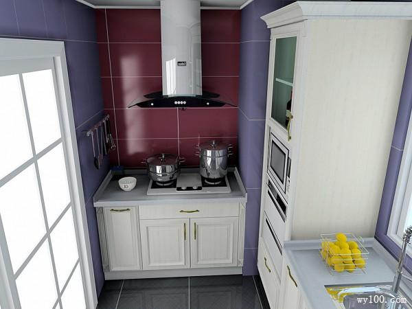 小户型厨房效果图 5平打造创意橱柜_维意定制家具商城