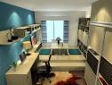 简约书房 20�O日式榻榻米提升空间利用率_维意定制家具商城