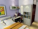 简约时尚强收纳卧房 10�O一份宁静与优雅_维意定制家具商城