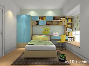 多功能儿童房设计 创意无边室内设计_维意定制家具商城