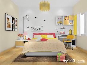 衣柜儿童房效果图 12平阳光型组合_维意定制家具商城
