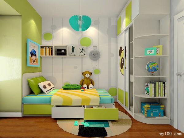 10�O见招拆招儿童房 不规则户型_维意定制家具商城