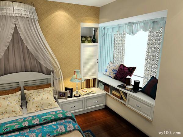 北欧风卧室 12平教你少套腰包打造温馨卧室_维意定制家具商城