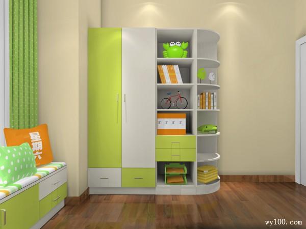 小户型儿童房效果图 12平主题房设计_维意定制家具商城