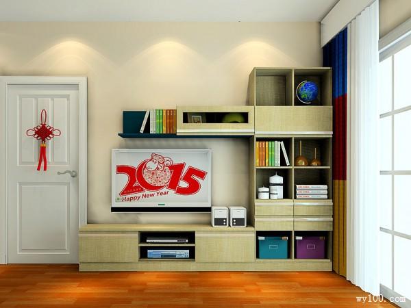 蓝色卧房效果图 14�O轻装修重装饰_维意定制家具商城