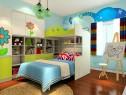 上下床儿童房效果图 12�O实现小小梦想家_维意定制家具商城