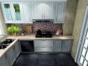 简约厨房效果图 6�O谁说小厨房就乌烟瘴气_维意定制家具商城