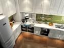 L型厨房设计 7�O让烹饪更轻松_维意定制家具商城