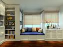 欧式装修效果图  15�O超强收纳小书房_维意定制家具商城