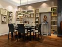 现在简约客餐厅 61�O层次感十足强收纳_维意定制家具商城