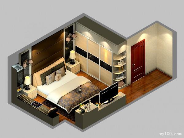 卧室装什么衣柜好?24�O简约风卧室给你支大招_维意定制家具商城