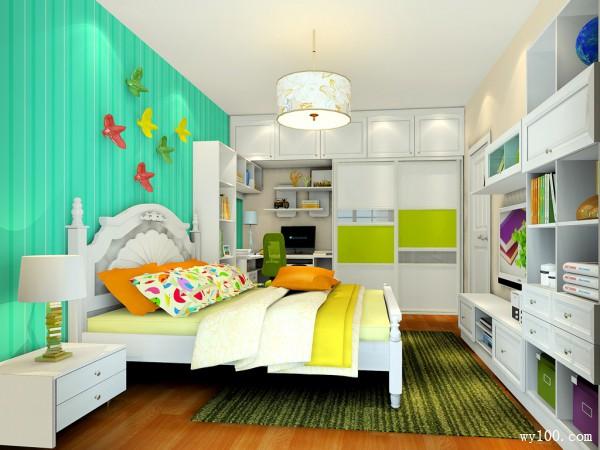 田园欧式卧房效果图 14�O拥有春天的浪漫_维意定制家具商城