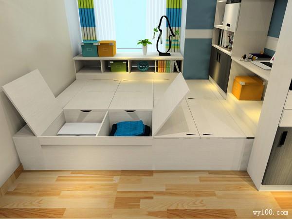 卧房设计 最会利用+最省空间的10�O_维意定制家具商城