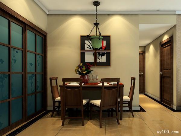 东南亚客餐厅效果图 45�O香格里拉温馨_维意定制家具商城