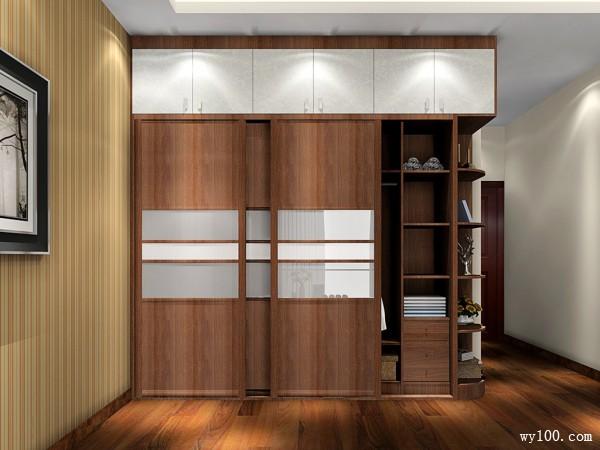 舒适卧室效果图 18�O咖啡物语卧室_维意定制家具商城