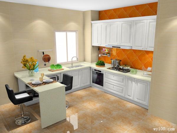 纽唐系列厨房F0028_维意定制家具商城