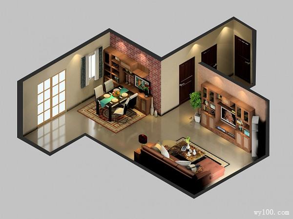 欧式客厅装修效果图  71�O时尚温馨两不误_维意定制家具商城