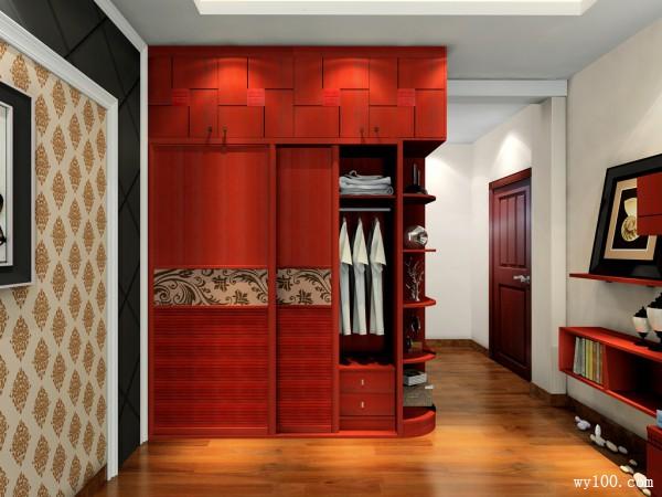 新中式古典风格卧室效果图_维意定制家具商城