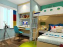 木质儿童房效果图_维意定制家具商城