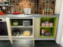 厨房装修效果图 8�O光滑表面容易清洁_维意定制家具商城