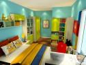 简约实用儿童房效果图_维意定制家具商城