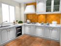 厨房装修效果图 6�O温馨自然又明亮_维意定制家具商城