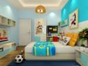 大方美观儿童房效果图_维意定制家具商城